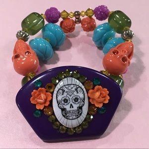 Tarina Tarantino Sugar Skull bracelet